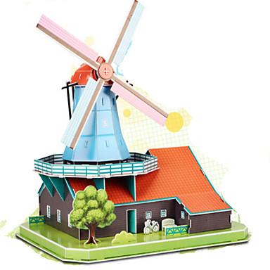 3D-puzzels Legpuzzel Modelbouwsets Beroemd gebouw DHZ Natuurlijk Hout Klassiek Unisex Geschenk