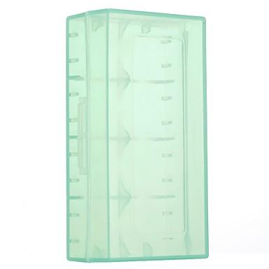 الأخضر شفافة 18650 بطارية مربع 1 قطعة 5