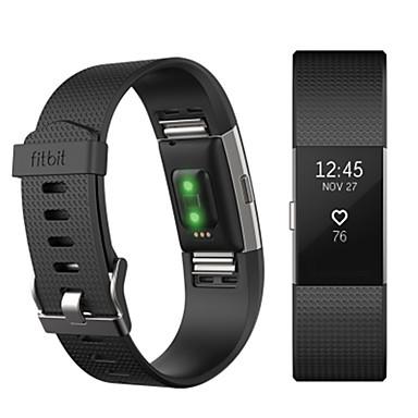 حزام إلى Fitbit Charge 2 فيتبيت عصابة الرياضة فلورولاستومر شريط المعصم