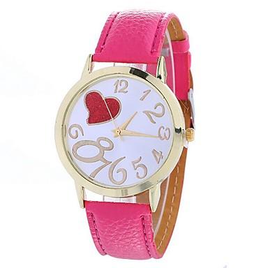 Pentru femei Ceas Casual / Ceas La Modă / Ceas de Mână Chineză cald Vânzare PU Bandă Casual Negru / Alb / Albastru