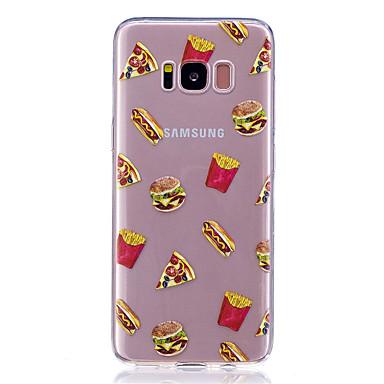 Maska Pentru Samsung Galaxy S8 Plus S8 Transparent Model Carcasă Spate Hrană Moale TPU pentru S8 S8 Plus S7 edge S7