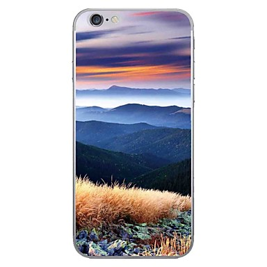 hoesje Voor Apple iPhone 7 Plus iPhone 7 Patroon Achterkant Landschap Zacht TPU voor iPhone 7 Plus iPhone 7 iPhone 6s Plus