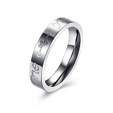 Pentru femei Band Ring Bijuterii Argintiu Argilă Aliaj Circle Shape Geometric Shape neregulat Personalizat Lux Γεωμετρικά Bling bling Modă