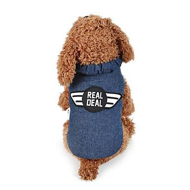 Hund Weste Hundekleidung Polizei / Militär Baumwolle Daune Kostüm Für Haustiere Herrn Damen Lässig/Alltäglich