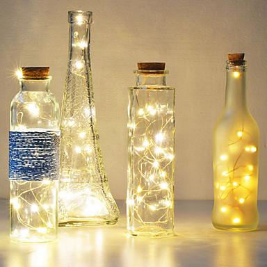 ieftine Decorațiuni de Casă-5m 50 led baterie led lumini șir pentru xmas ghirlandă partid nunta decorare Crăciun flashlight fairy lumini