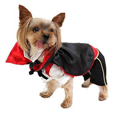 Câine Costume Îmbrăcăminte Câini Halloween Înger & Demon Negru