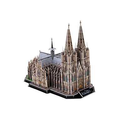 3D - Puzzle Holzpuzzle Berühmte Gebäude Kirche Architektur 3D EPS+EPU Unisex Geschenk