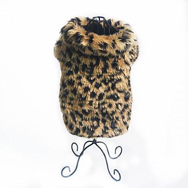 Hund Kostüme Hundekleidung Warm Party Leopard Kostüm Für Haustiere