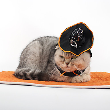 قط ازياء تنكرية اكسسوارات الشعر ملابس الكلاب الكوسبلاي Halloween سادة كوستيوم للحيوانات الأليفة