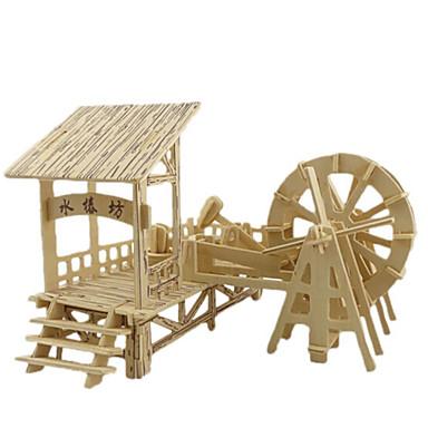 3D - Puzzle Holzpuzzle Holzmodelle Berühmte Gebäude Haus Architektur 3D Holz Naturholz Jungen Unisex Geschenk