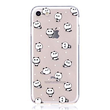 Maska Pentru Apple iPhone 7 Plus / iPhone 7 Model Capac Spate Panda Moale TPU pentru iPhone 7 Plus / iPhone 7 / iPhone 6s Plus