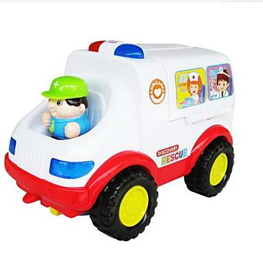 Voiture Cadeau À Plastique Pièces Unisexe Jeu Petites Jouet Enfant Ambulance Camion Remonter De Rôle PiuTkXZO