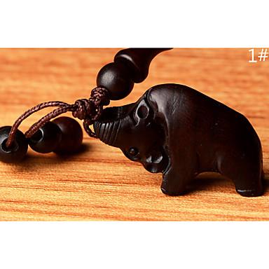 Beutel / Telefon / keychain Charme Tier Karikatur Spielzeug chinesische Art hölzern