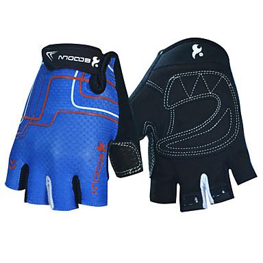 BOODUN/SIDEBIKE® Rękawiczki sportowe Rękawiczki rowerowe Zdatny do noszenia Oddychający Wearproof Ochronne Bez palców Mesh Fitness Dla