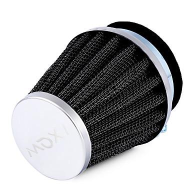 Ziqiao Autozubehör Luftfilter hochwertiges Eisen und starkes biegsames Gummi Universal 1pcs 54mm Pilzkopf Motorrad Luftfilter