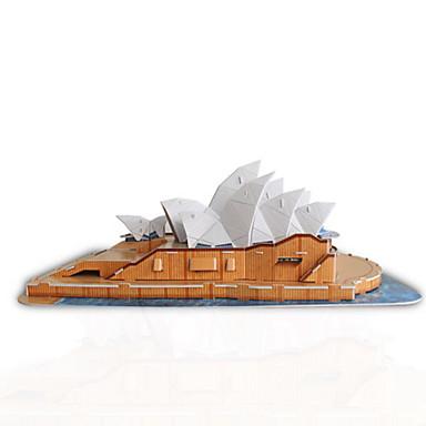 3D - Puzzle Holzpuzzle Modellbausätze Berühmte Gebäude Heimwerken Naturholz Klassisch Unisex Geschenk