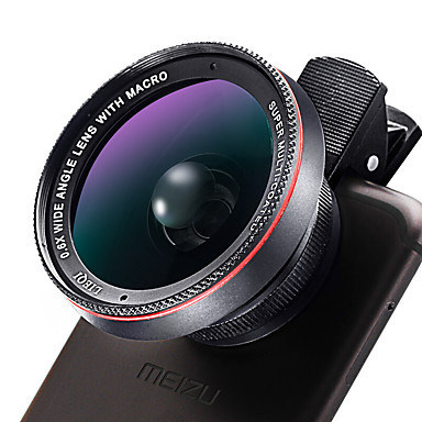 Obiectivul telefonului mobil Lentile cu Unghi Larg Lentilă Macro 10X și peste 58 0.02 132 Other