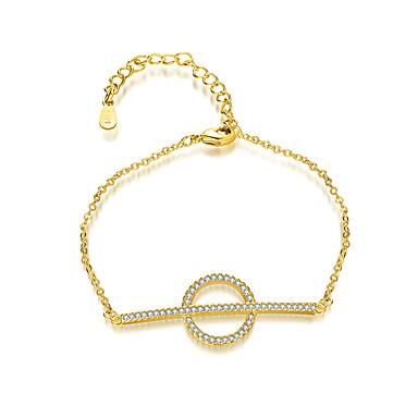 Pentru femei Brățări cu Lanț & Legături Brățări cu Talismane Bijuterii Prietenie Modă Argilă Circle Shape Inimă Bijuterii Alte Stradă