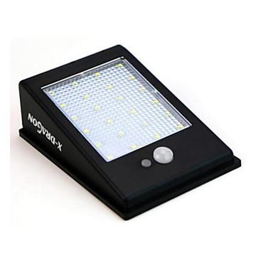 في الهواء الطلق أضواء الشمسية 24 ليد للماء جسم الإنسان التعريفي إنقاذ مصباح الجدار