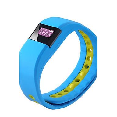 Heren Modieus horloge Digitaal Silicone Band Zwart Blauw Orange Paars Geel