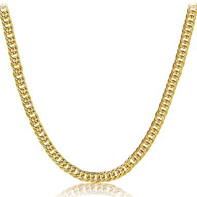 Bărbați Pentru femei Geometric Shape Formă Lux Clasic Natură Gotic Crăciun Coliere Choker Bijuterii Placat Auriu Coliere Choker Crăciun