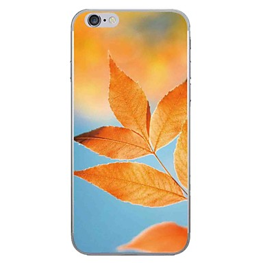 Fall für Apfel iphone 7 7 plus Fallabdeckungs-Blätter Muster hd gemaltes dickeres t-Stück weicher Falltelefonkasten für iphone 6s 6 plus