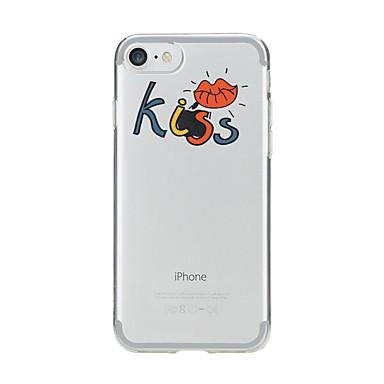 Caz pentru iphone 7 6 cuvânt / frază tpu soft ultra-subțire spate cover cover case iphone 7 plus 6 6s plus se 5s 5 5c 4s 4