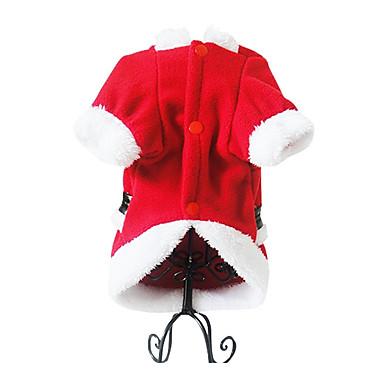 Hund Kostüme Hundekleidung Cosplay Weihnachten Rot Kostüm Für Haustiere