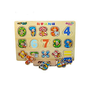 Puzzle Puzzle Lemn Jucării Educaționale Jucarii Other Αριθμοί Fruct Lemn Unisex Bucăți