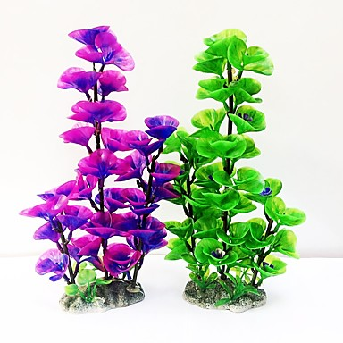 Decorațiune pentru Acvariu Plantă Apă Plastic