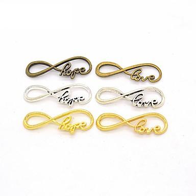 Dames Hangers Sieraden Alfabetvorm Oneindigheid Legering Hangende stijl Sieraden Voor Kantoor/Formeel Dagelijks gebruik