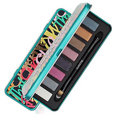 8 Color in 1 Palette, 2 Color Palette Select Bărbați Femei Doamna Ochi Universal Zilnic Petrecere Fără Formaldehidă Fără Amoniac Fără