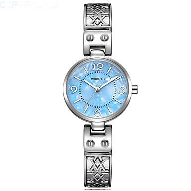Pentru femei Ceas de Mână cald Vânzare Oțel inoxidabil Bandă Casual / Modă Argint