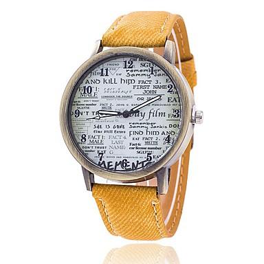 Heren Gesimuleerd Diamant Horloge Unieke creatieve horloge Polshorloge Dress horloge Modieus horloge Vrijetijdshorloge Chinees Kwarts