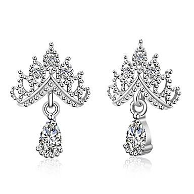 Pentru femei Boem Crown Shape Zirconiu Cubic Ștras Zirconiu Ștras Argilă Cercei Picătură - Boem Bling bling Elegant Multi-moduri Wear
