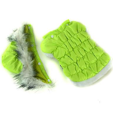 كلب هوديس ملابس الكلاب كاجوال/يومي سادة أرجواني فوشيا أخضر أزرق زهري كوستيوم للحيوانات الأليفة