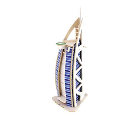 قطع تركيب3D تركيب النماذج الخشبية بناء مشهور خشب الخشب الطبيعي للأطفال للجنسين هدية