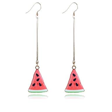 Damen Ohrringe Set Modisch individualisiert nette Art Aleación Frucht Schmuck Für Alltag Normal Ausgehen Strasse