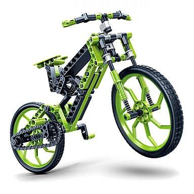 Jucării pentru mașini Lego Puzzle 3D Bicicletă Reparații Plastice Pentru copii Fete Băieți Cadou