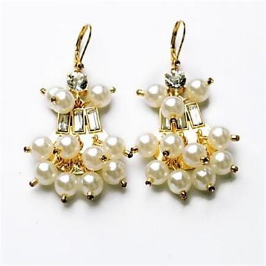 Damen Tropfen-Ohrringe Imitierte Perlen Personalisiert Sexy Liebe Modisch Aleación Tropfen Schmuck Für Party Sonstiges Verlobung
