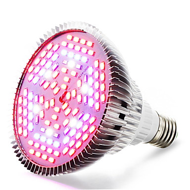 4000-5000lm E27 Büyüyen ampul 120 LED Boncuklar SMD 5730 Sıcak Beyaz UV (Siyah Işık) Mavi Kırmızı 85-265V