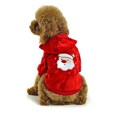 Hond kostuums Hondenkleding Kerstmis Kerstmis Geborduurd Kostuum Voor huisdieren