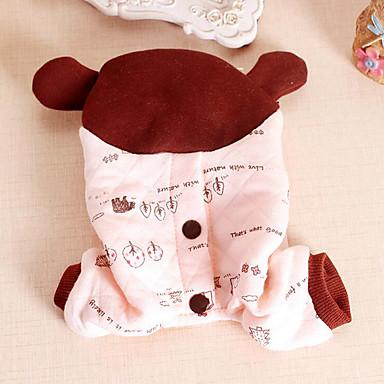 Câine Salopete Îmbrăcăminte Câini Casul/Zilnic Urs Costume Pentru animale de companie