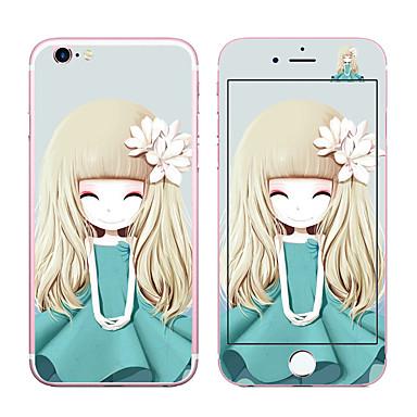 Ecran protector pentru Apple iPhone 6s Plus iPhone 6 Plus Sticlă securizată Ecran Protecție Față & Spate 9H Duritate 2.5D Muchie Curbată
