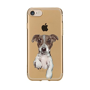 Maska Pentru Apple iPhone 7 Plus iPhone 7 Transparent Model Capac Spate Câțel Moale TPU pentru iPhone 7 Plus iPhone 7 iPhone 6s Plus