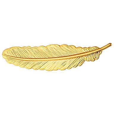 Bărbați, Pentru femei Bijuterii Broșe - Placat Auriu Alb, Trandafiriu, Negru