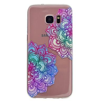 غطاء من أجل Samsung Galaxy S8 Plus S8 نموذج غطاء خلفي ماندالا نمط ناعم TPU إلى S8 Plus S8 S7 edge S7 S6 edge S6