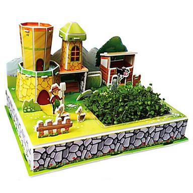 Sets zum Selbermachen 3D - Puzzle Holzpuzzle Spielzeug Spielzeuge Berühmte Gebäude Haus Architektur 3D Unisex Stücke