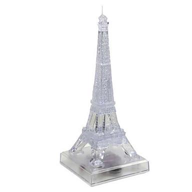 3D-puzzels Legpuzzel Kristallen puzzels Honden Toren Paard Architectuur Beer 3D Kunststoffen Rauta 6 jaar en ouder