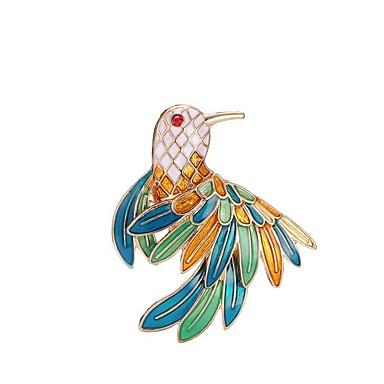 Pentru femei Broșe - Design Animal Animal Culori Asortate Broșă Pentru Crăciun / Petrecere / Zi de Naștere